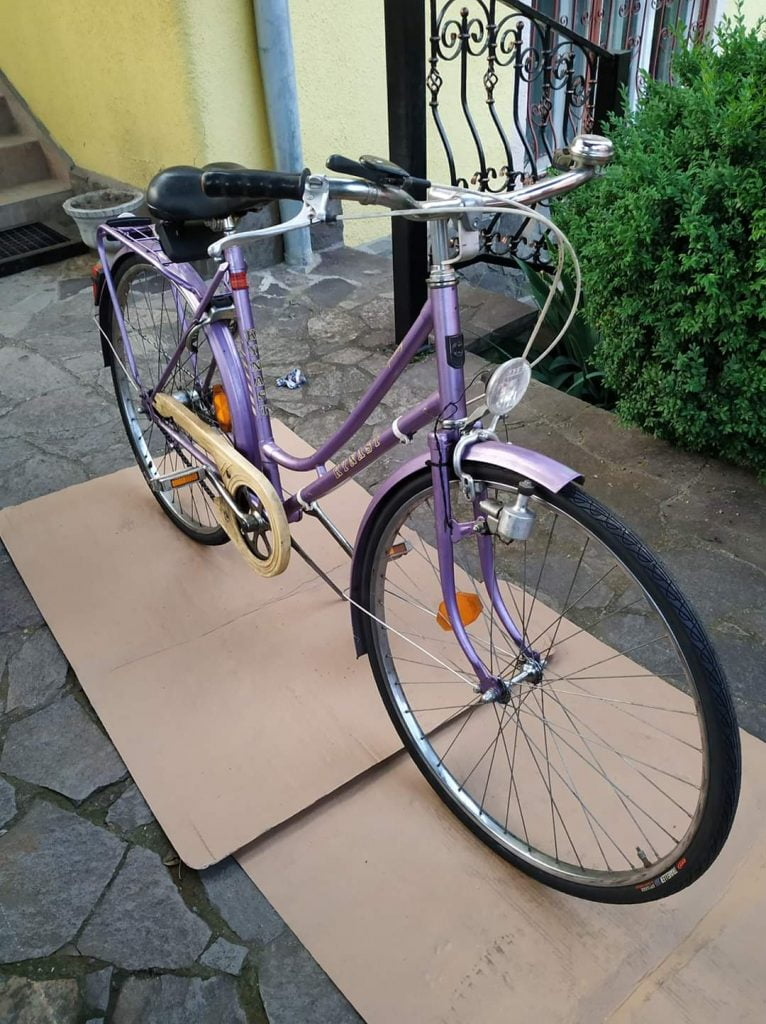 Venesis House Rent a Bike Sighisoara bicicleta clasica